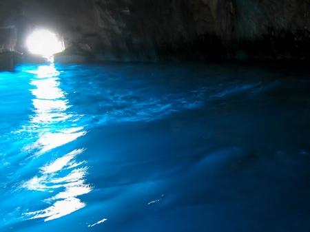 カプリ島_青の洞窟