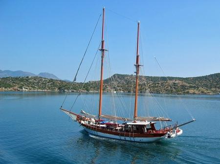 ギリシャ_エーゲ海1日クルーズへ