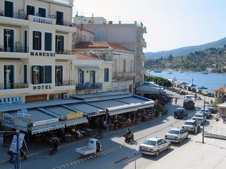 ギリシャ_ポロス島に到着