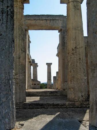 ギリシャ_エギナ島のアフェア神殿