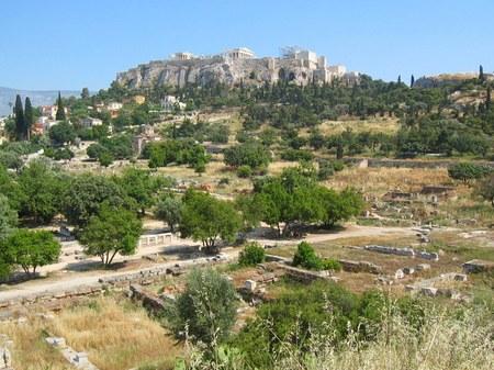 アテネ_古代アゴラの遺跡
