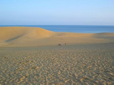 早朝の鳥取砂丘