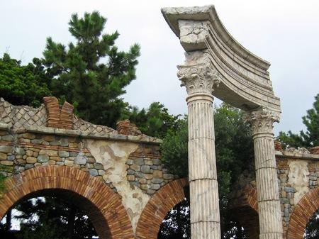 東京ディズニーシー_古代ローマの遺跡