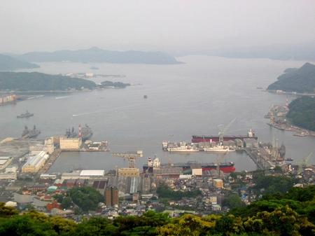 佐世保_弓張岳展望台からの眺め