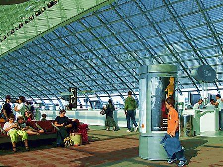 シャルル・ド・ゴール空港(ガッシュ風)