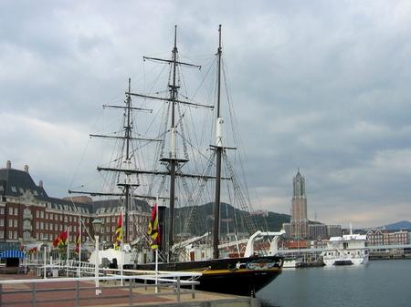 ハウステンボス_帆船「観光丸」