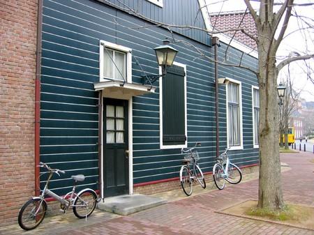 ハウステンボス_自転車のある風景