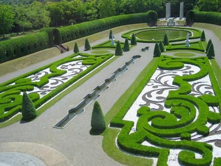 パレスハウステンボスの庭園