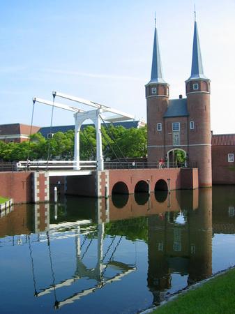 ハウステンボス_デルフト橋とシティゲートデルフト