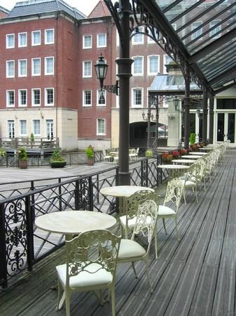 ハウステンボス_ホテルヨーロッパのポンツーン