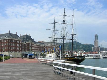 ハウステンボス_デ・ラウター桟橋と観光丸