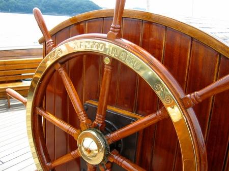 ハウステンボス_観光丸の操舵輪