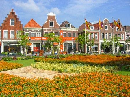 ハウステンボス_アレキサンダー広場の花畑
