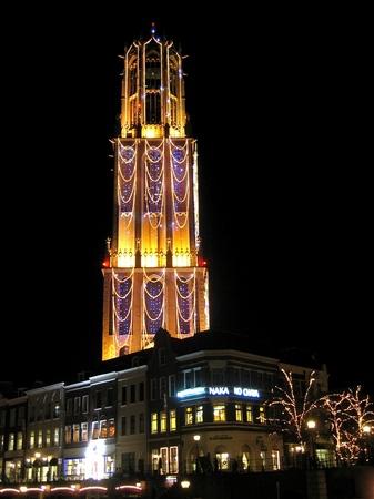 光の街ハウステンボス_光の塔