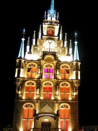 ハウステンボス_「光の街」のスタッドハウス