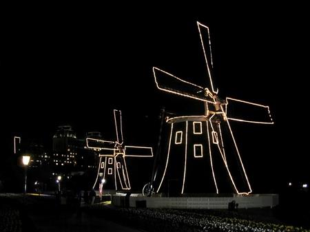 ハウステンボス_光の風車