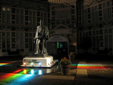 ハウステンボス_夜のナッソー広場