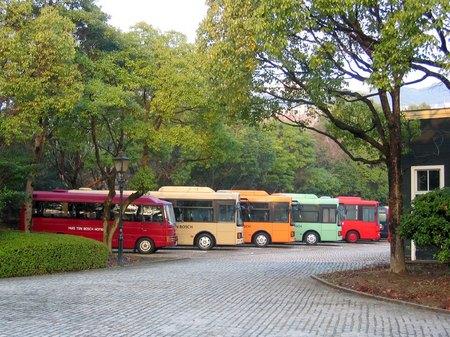 ハウステンボスのバス