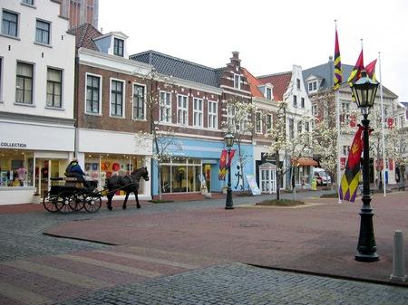 ハウステンボスの街を走る馬車
