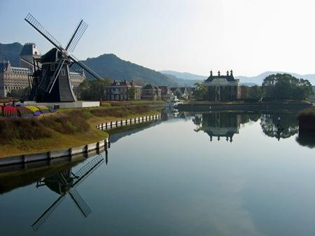 ハウステンボス_運河の風景