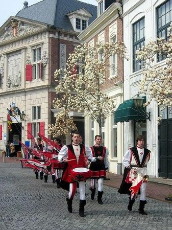 ハウステンボス_イタリアの旗手団