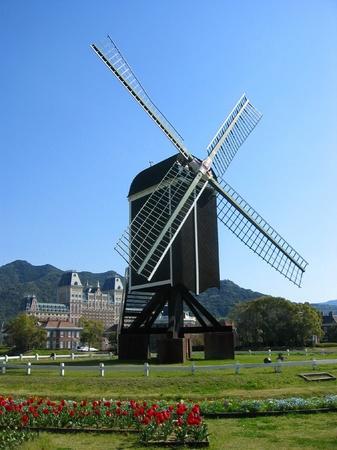 ハウステンボス_バスチオンの風車