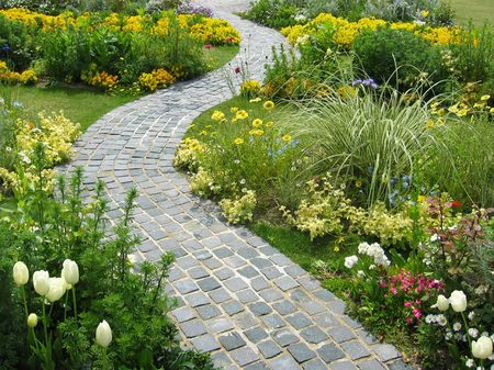 ハウステンボス_花咲く春の散歩道
