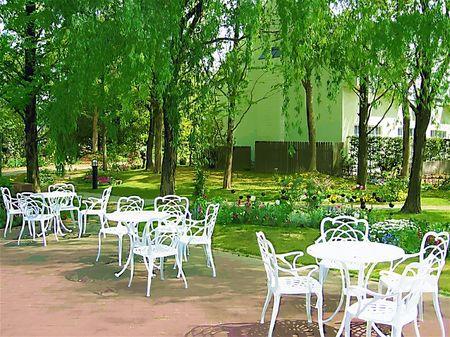 ハウステンボス_フォレストパークの木立(ガッシュ風)