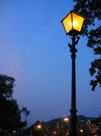 ハウステンボス_街灯の灯る頃