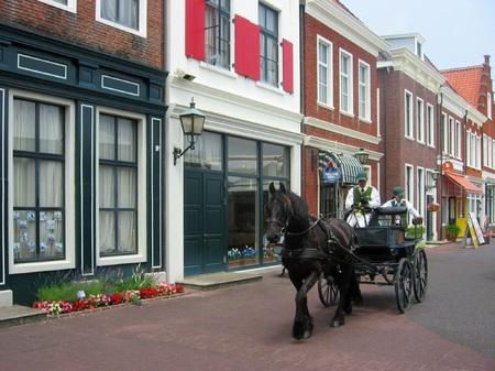 ハウステンボス_ブリューゲル通りの馬車
