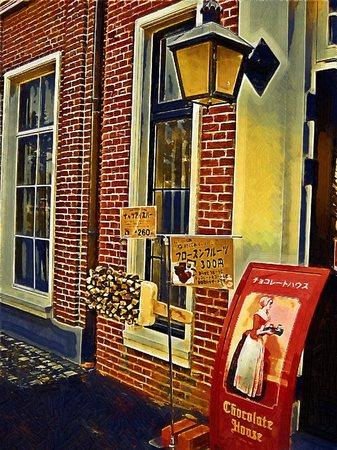 ハウステンボス_チョコレートハウス入口(ゴシック油彩風)