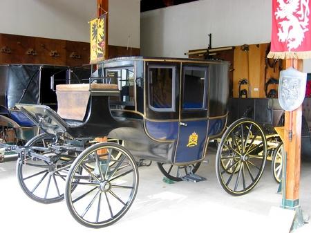 ハウステンボス_フリーシアンホースランドの馬車
