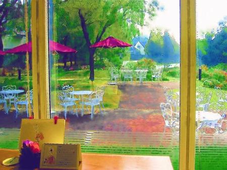 ハウステンボス_フォレストガーデンレストラン「トロティネ」(水彩画風)