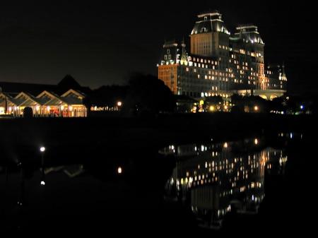 ハウステンボス_夜のジェイアール全日空ホテル