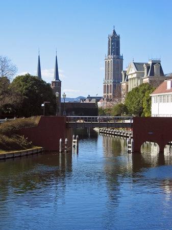 ハウステンボス_運河とドムトールン