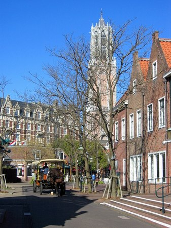 ハウステンボス_フェルメール通りの風景