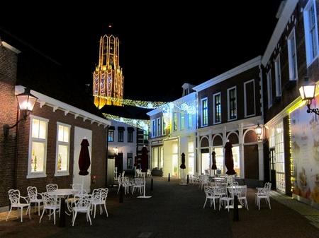 ハウステンボス_ルーベンス通りの夜景