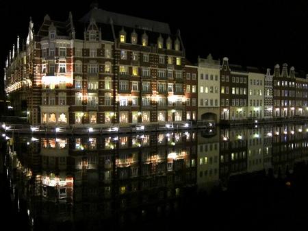 ハウステンボス_ホテルヨーロッパの夜景