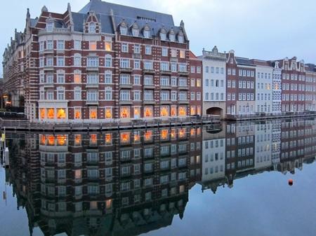 ハウステンボス_ホテルヨーロッパの朝景
