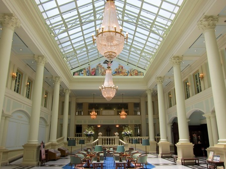 ハウステンボス_ホテルアムステルダムのロビー