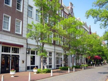 ハウステンボス_ホテルアムステルダム前のレンブラント通り