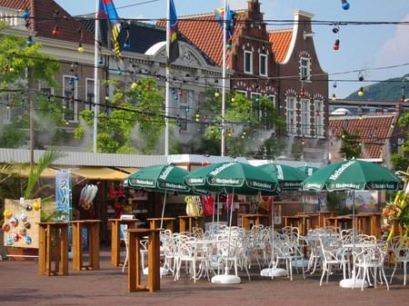 ハウステンボス_夏のアレキサンダー広場