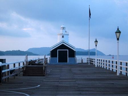 ハウステンボス_夜明けのデ・ラウター桟橋