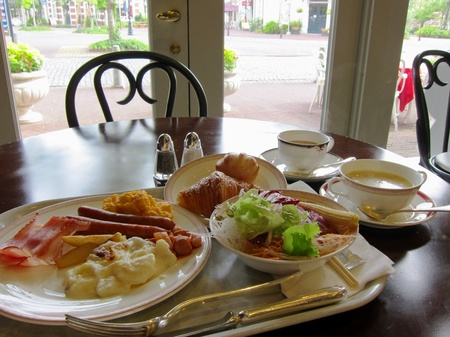 ハウステンボス_「ア クールヴェール」で朝食