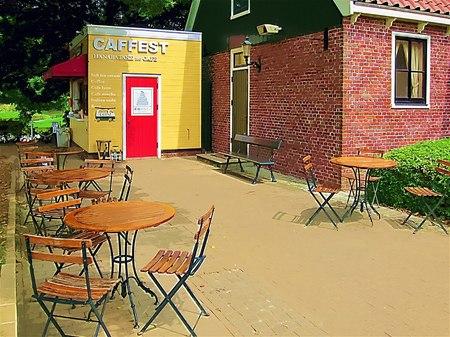 ハウステンボス_花畑のカフェ「CAFFEST」(ガッシュ風)