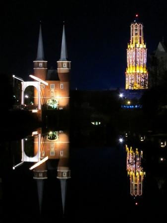 ハウステンボス_モーレン橋からの夜景