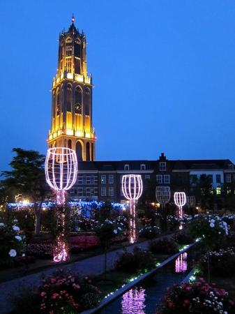 ハウステンボス_アートガーデンの夜景